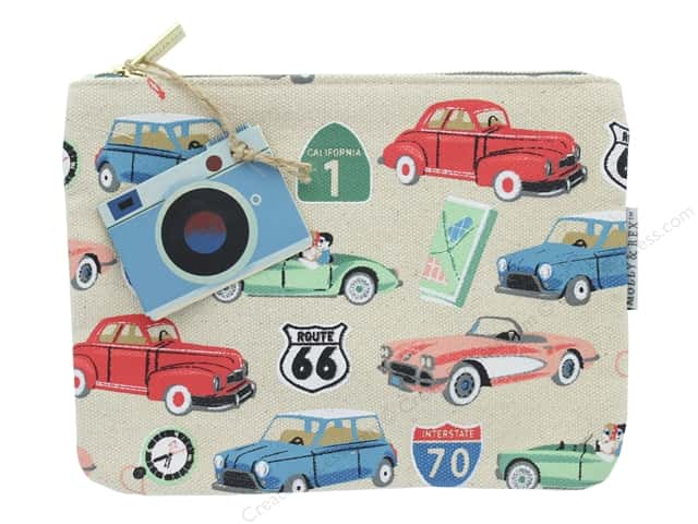 Molly & Rex Bag Road Trip Zippered Utility