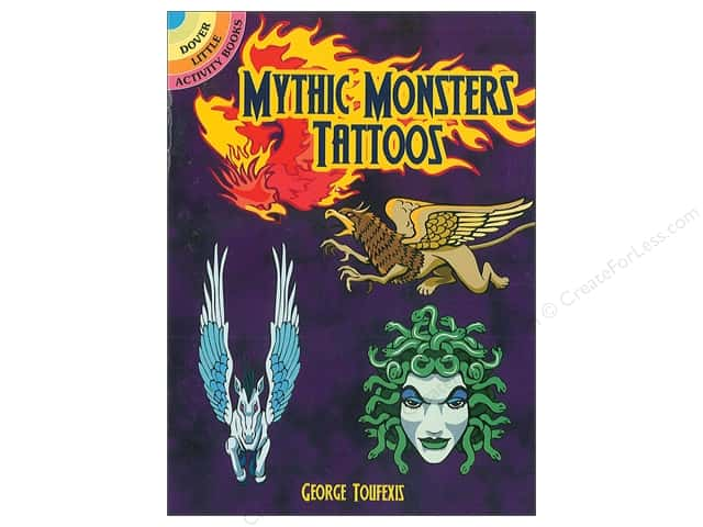 Dover Publications Little Mythic Monster Tattoo Book