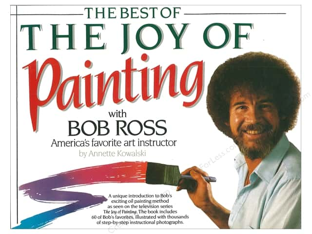 William Morrow Bob Ross Best of Joy of Painting Book