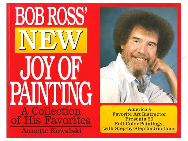 William Morrow Bob Ross New Joy of Painting Book
