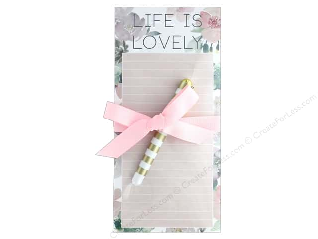 Lady Jayne Note Pad Magnetic List With Pen Lovely