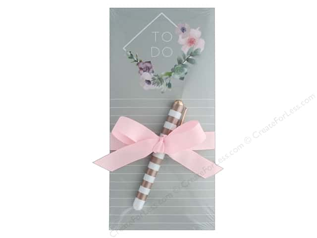 Lady Jayne Note Pad Magnetic List With Pen Diamond Wreath