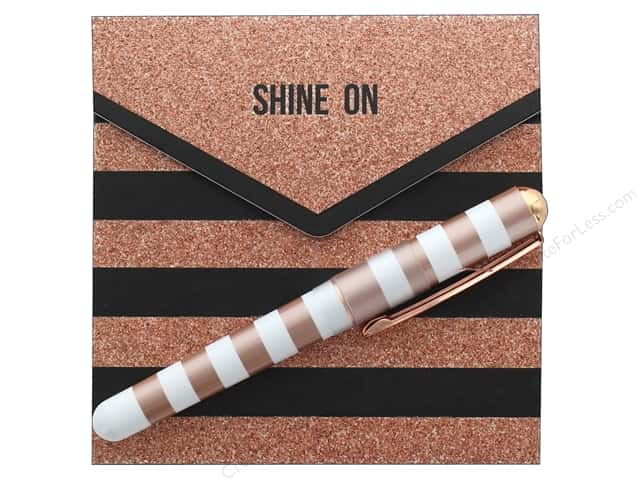 Lady Jayne Matchbook Note Pad With Pen Shine On