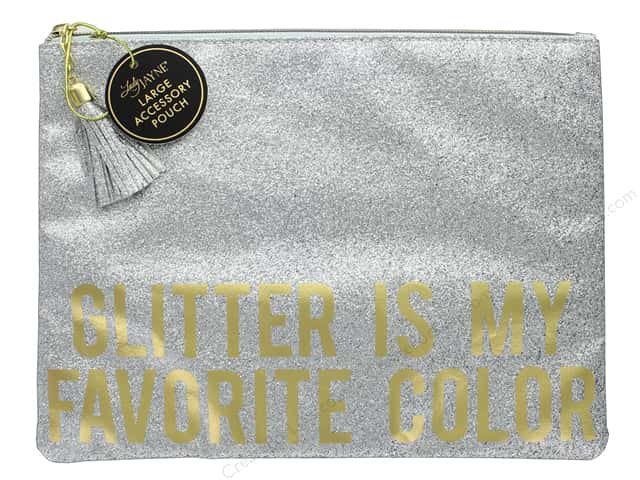 Lady Jayne Cosmetic Bag Glam Large Glitter Is My Favorite