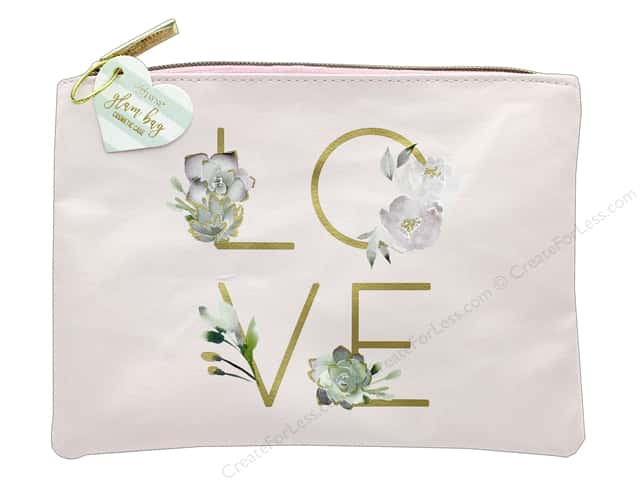 Lady Jayne Cosmetic Bag Glam Bold Love Gold Foil
