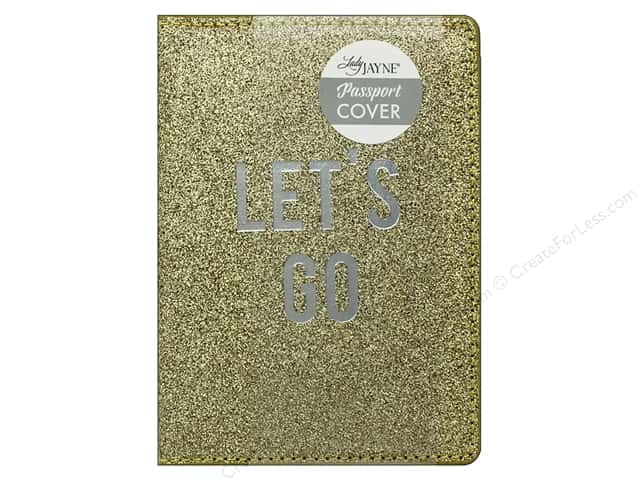 Lady Jayne Passport Cover Let's Go