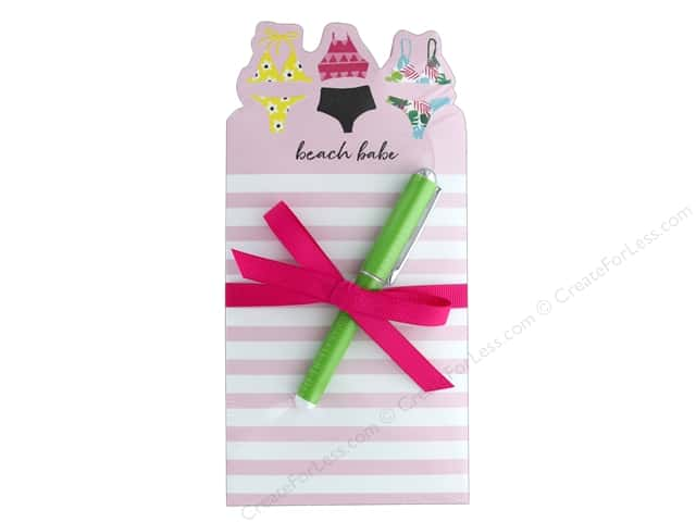 Lady Jayne Note Pad Die Cut With Pen Swimsuits