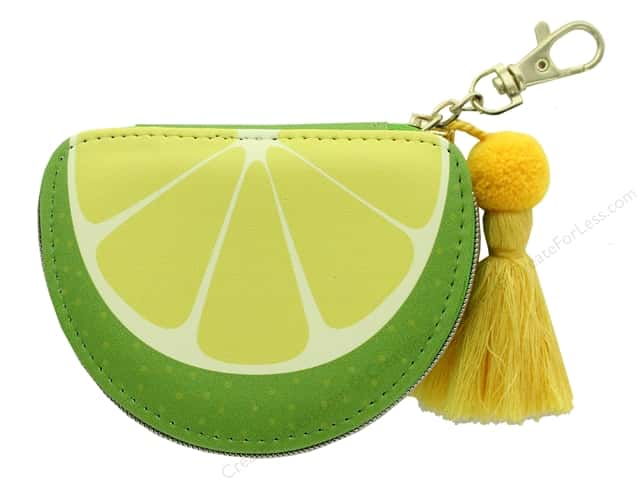 Lady Jayne Zip Pouch Lime