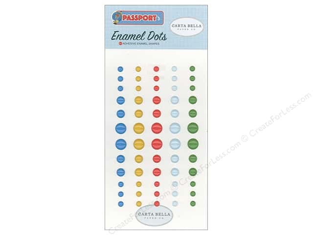Carta Bella Collection Passport Enamel Dots
