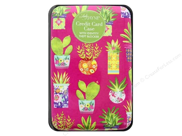 Lady Jayne Case Credit Card Succulent Pattern
