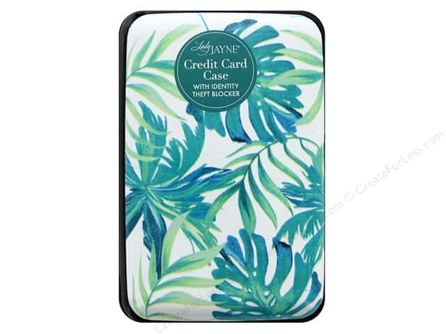 Lady Jayne Case Credit Card Tropical Fronds