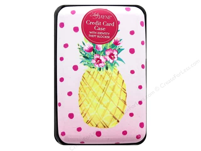 Lady Jayne Case Credit Card Pineapple