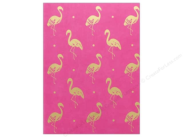 Lady Jayne Journal Faux Leather Pink Flamingo
