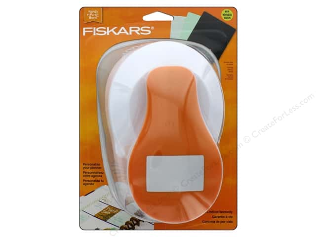 Fiskars Punch Lever 1 7/8 in. x 3 in. Rectangle Planner