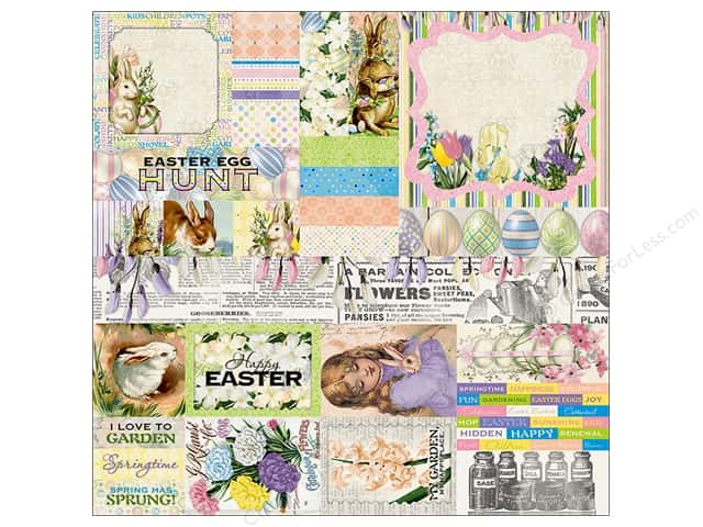 Bo Bunny Collection Cottontail Sticker Combo