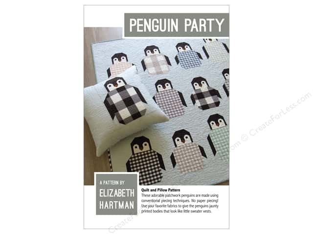 Elizabeth Hartman Penguin Party Pattern