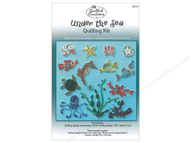 Quilled Creations Under the Sea Quilling Kit