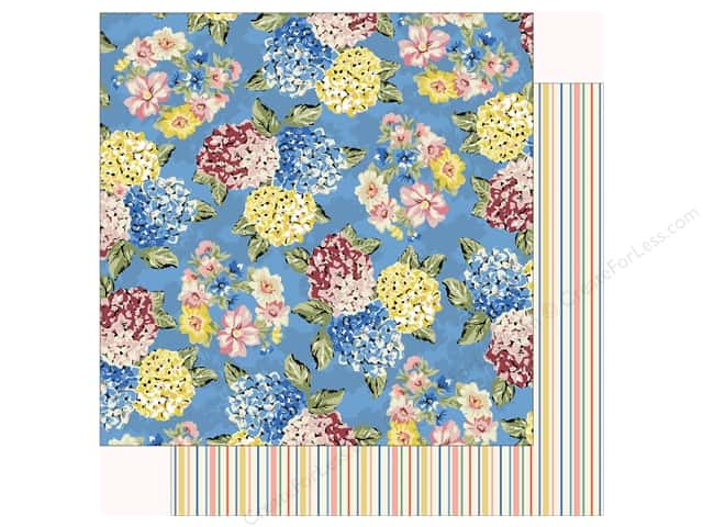 Carta Bella Practically Perfect Paper 12 in. x 12 in. Jolly Floral (25 pieces)