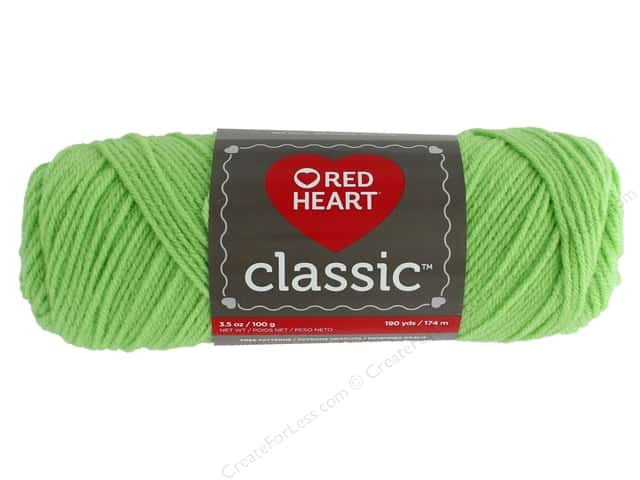 Red Heart Classic Yarn 190 yd. #1625 Lime