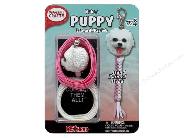 Pepperell Kit Rexheads Keychain Puppy