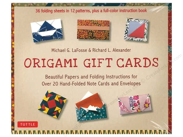 Tuttle Publishing Origami Gift Cards Kit Book