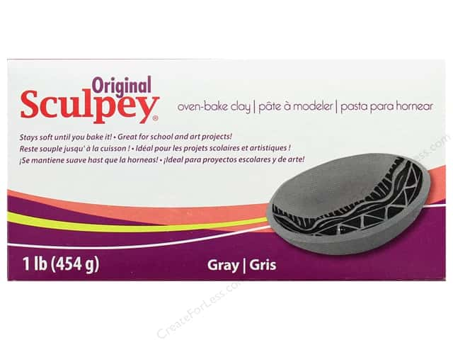 Sculpey Original Clay 1 lb Grey