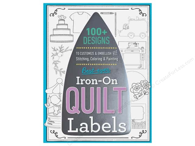 C&T Publishing Best Ever Iron-On Quilt Labels Book