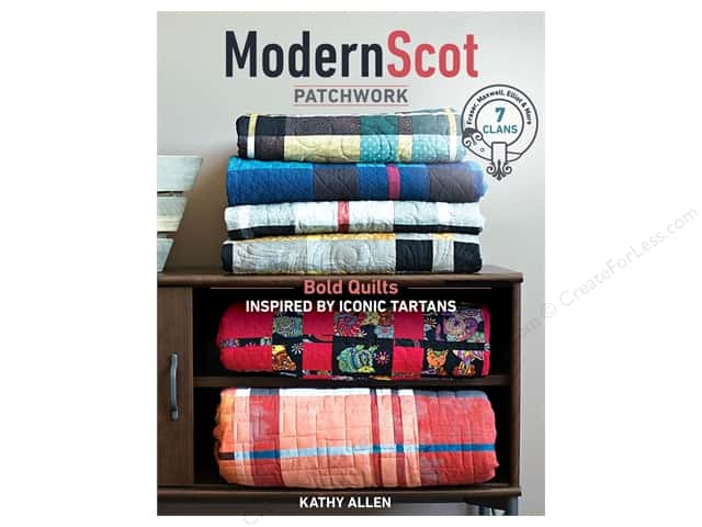 C&T Publishing Modern Scot Patchwork Book