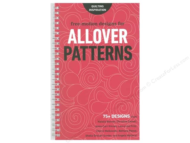 C&T Publishing Free-Motion Designs For Allover Patterns Book