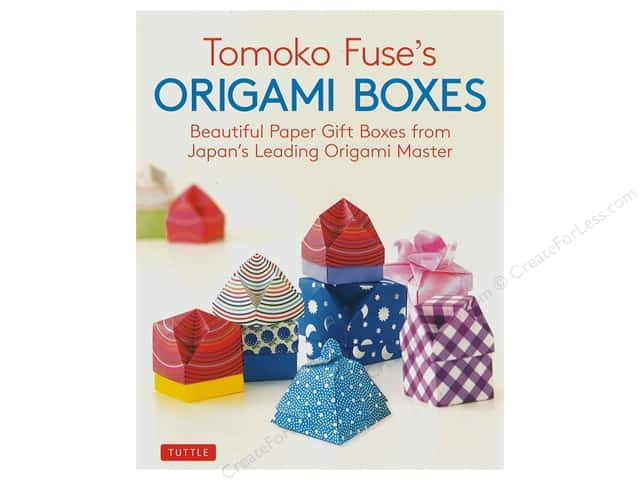 Tuttle Publishing Tomoko Fuse's Origami Boxes Book