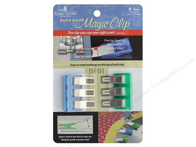 Taylor Seville Magic Clip Extra Small 6 pc