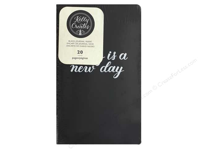 American Crafts Collection Kelly Creates Journal Insert Black
