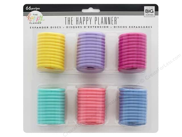 Me&My Big Ideas Collection Create 365 Happy Planner Disc Expander Value Pack