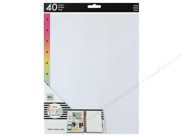 Me&My Big Ideas Collection Create 365 Happy Planner Big Fill Rainbow Dot Grid