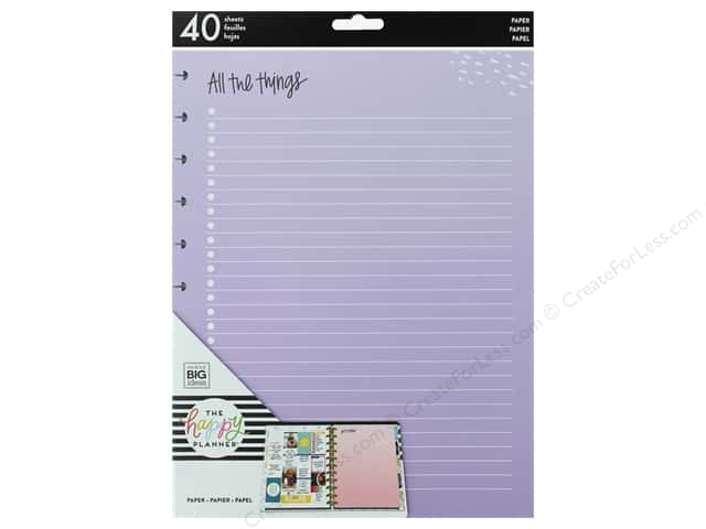 Me&My Big Ideas Collection Create 365 Happy Planner Big Fill Colored All The Things