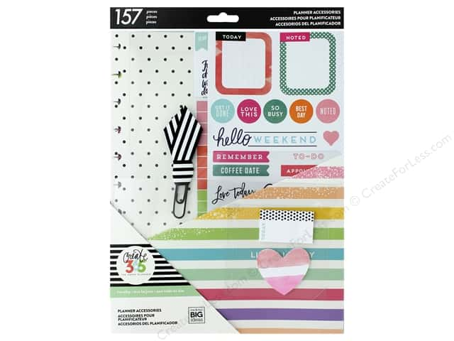 Me&My Big Ideas Collection Create 365 Happy Planner Accessory Pack Big Life Is Lovely