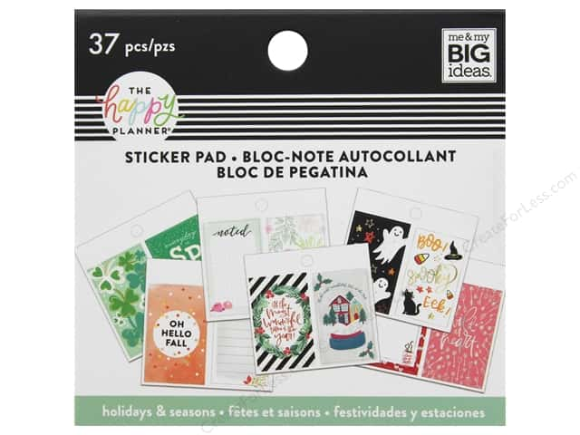 Me&My Big Ideas Collection Create 365 Happy Planner Sticker Pad Tiny Seasonal