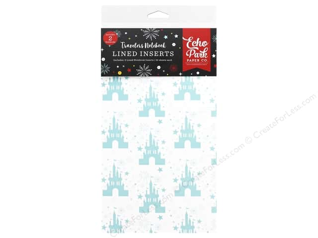 Echo Park Collection Travelers Notebook Wish Upon/Star Notebook Insert Lined