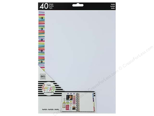 Me&My Big Ideas Collection Create 365 Happy Planner Medium Fill Stripe Dot Multi