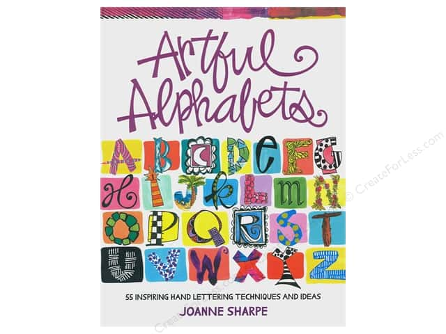 North Light Artful Alphabets Book