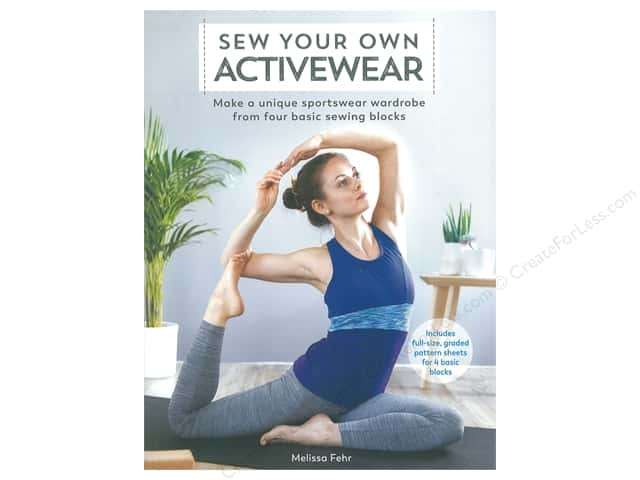 Sewandso by F & W Publishing Sew Your Own Activewear Book