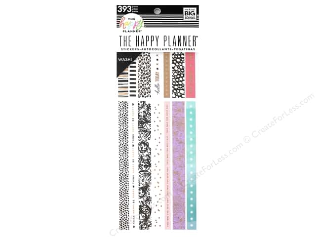 Me&My Big Ideas Collection Create 365 Happy Planner Washi Book Pastels