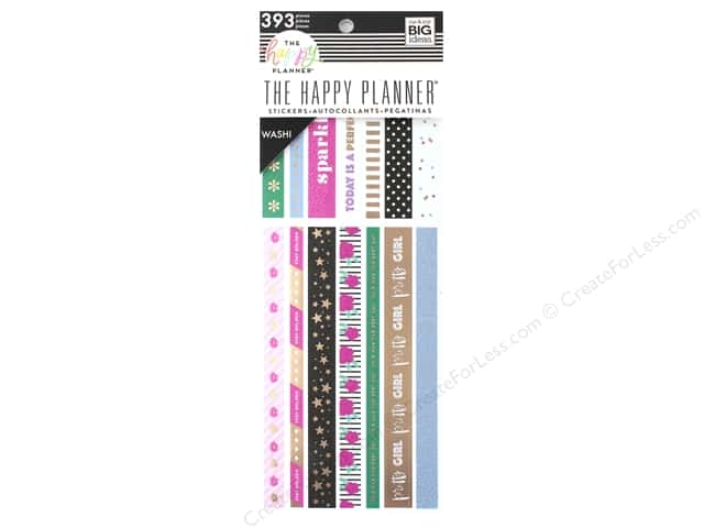 Me&My Big Ideas Collection Create 365 Happy Planner Washi Book Girly