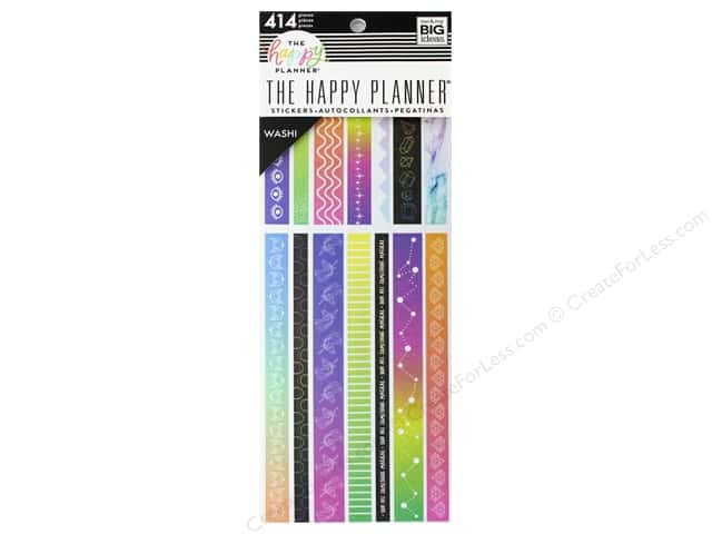 Me&My Big Ideas Collection Create 365 Happy Planner Washi Book Magical