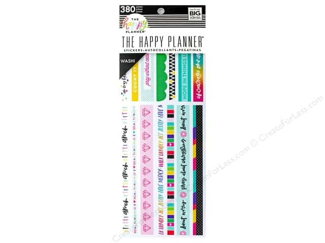 Me&My Big Ideas Collection Create 365 Happy Planner Washi Book Bible Journaling