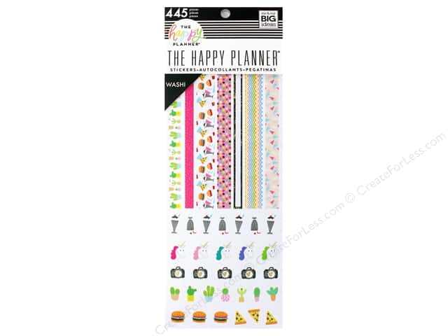 Me&My Big Ideas Collection Create 365 Happy Planner Washi Book Super Fun
