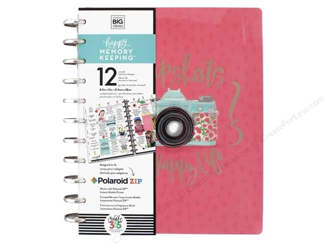 Me&My Big Ideas Collection Create 365 Happy Memory Keeper Planner Big Painted Memories