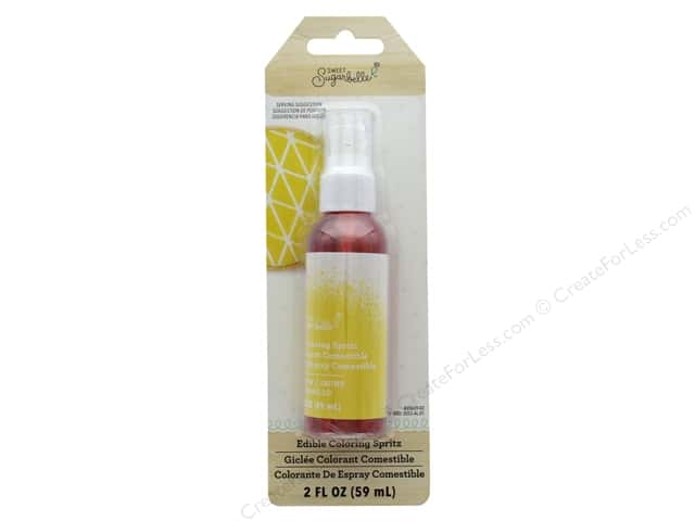 American Crafts Collection Sweet Sugarbelle Spray Mist 2 oz Yellow