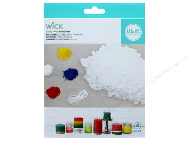 We R Memory Keepers Wick Candle & Wax Bundle