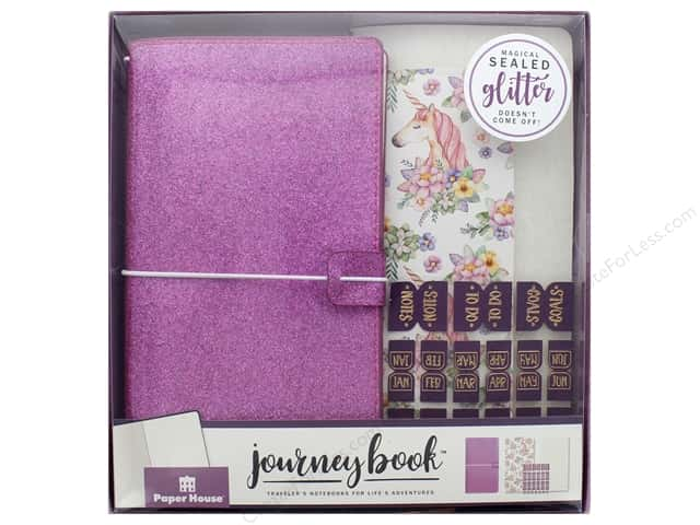 Paper House Collection Life Organized Journey Book Set Traveler Unicorn
